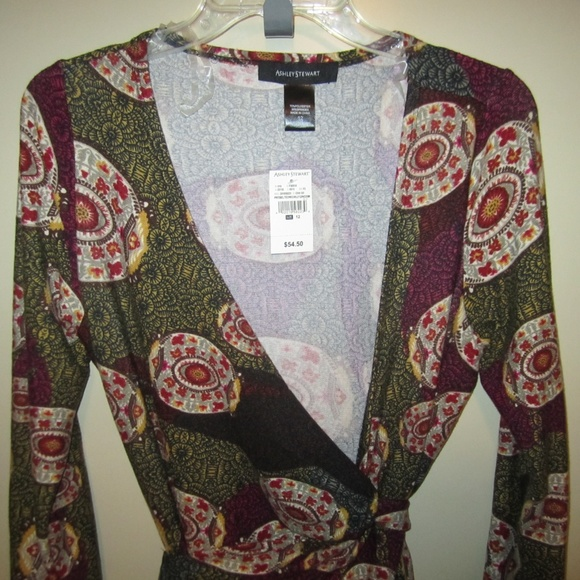 Ashley Stewart Dresses & Skirts - Ashley Stewart Wrap Dress